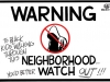 Neighborhood Warning