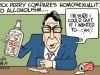 Rick Perry's Drinking Problem